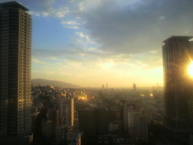 ANAクラウンパレスホテル神戸 新神戸駅の目の前。神戸旅行2日目