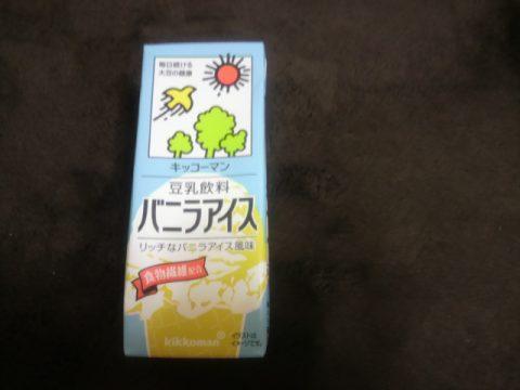 豆乳 バニラアイス
