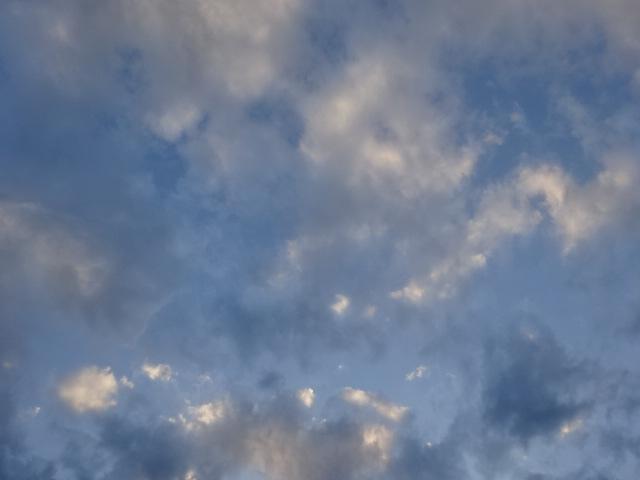 水彩画みたいな空【今日の一枚】
