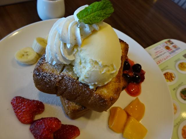 ハニートースト@ジョナサンアニバーサリー 食べてました☆