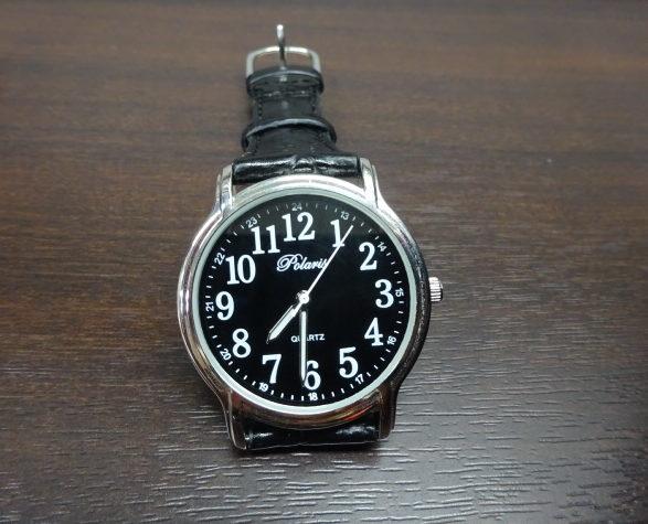 無事に黒の時計ゲット。クリアで見やすい。【TOEIC用】