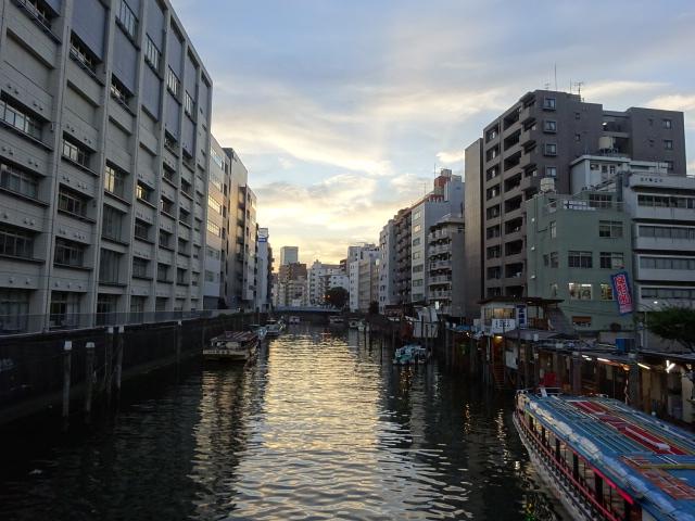 黄昏神田川