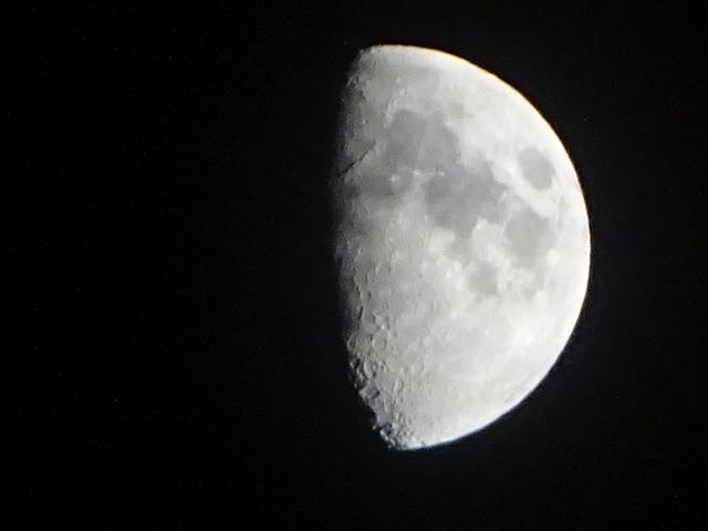 今夜の月は、こんなに