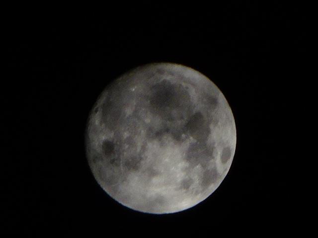 中秋の名月【今日の月】