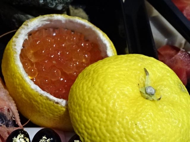 柚子の中には、