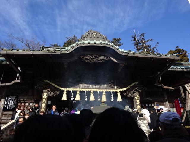 おみくじから今年のテーマは、健康と決めた 高尾山薬王院@初詣2018