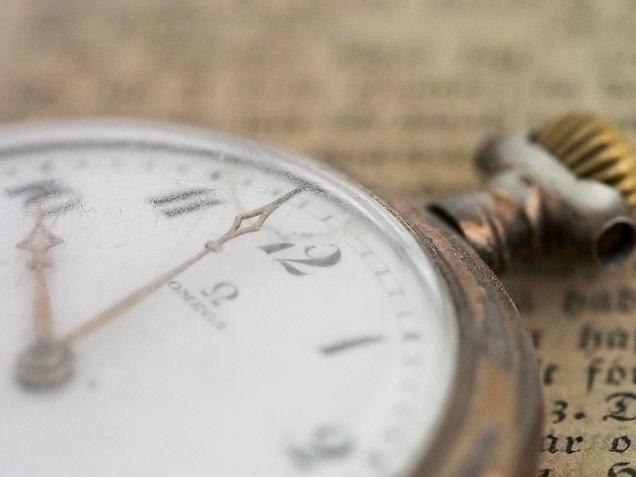 時間に追われている~過去の自分と対話する【2月13日】