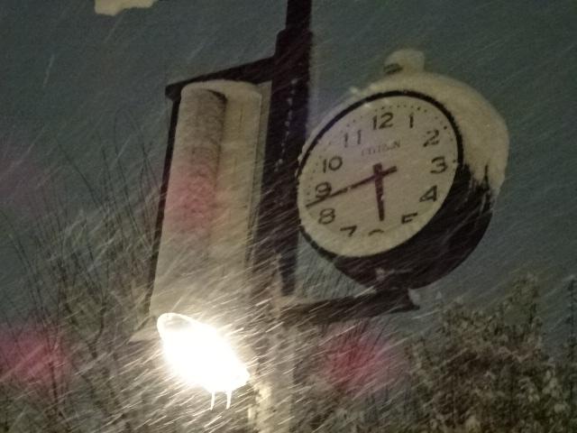 雪の日~過去の自分と対話する【3月21日】