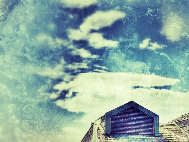 今日の空 まだ青空だったころ 今日の一枚