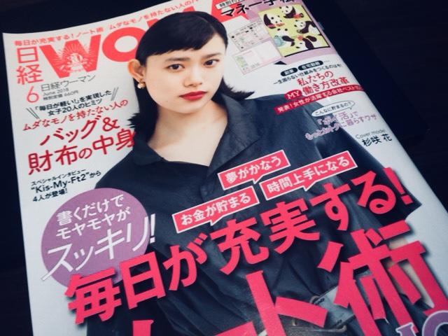 日経WOMAN 2018年6月号 毎日が充実する!ノート術100 やっぱり買っちゃう