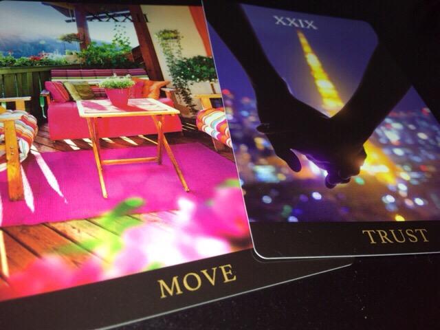MOVE、TRUST、遊び心@パワーウィッシュアンカリングカード