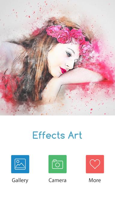 エフェクトアート(Effects Art)最近ハマっている画像加工のアプリ