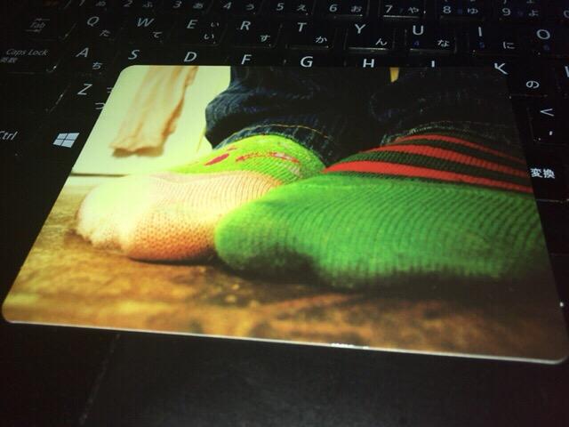 靴下カード