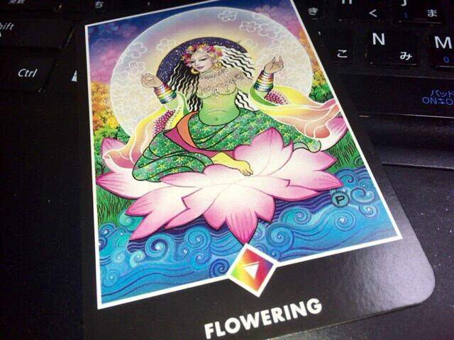 FLOWERING 開花 からだをマスターすること@OSHO ZEN TAROT