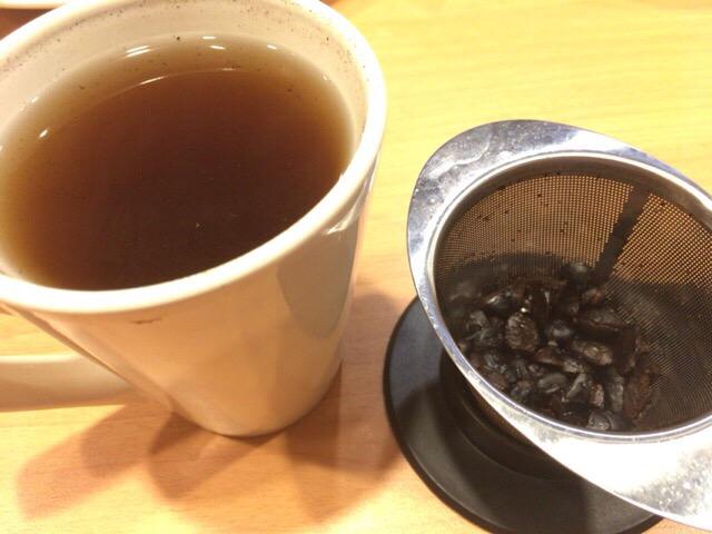 黒豆茶 ガストのノンカフェイン