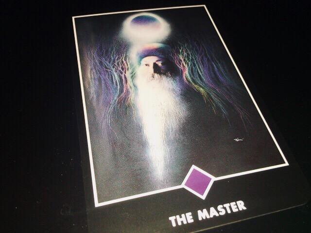 THE MASTER マスター@OSHO ZEN TAROT