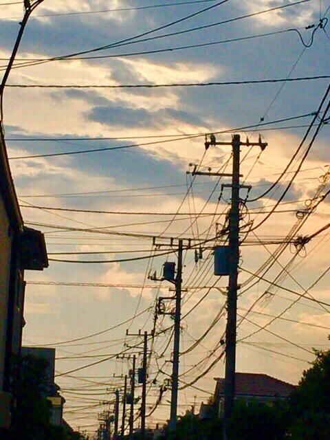 電線の街【今日の一枚】