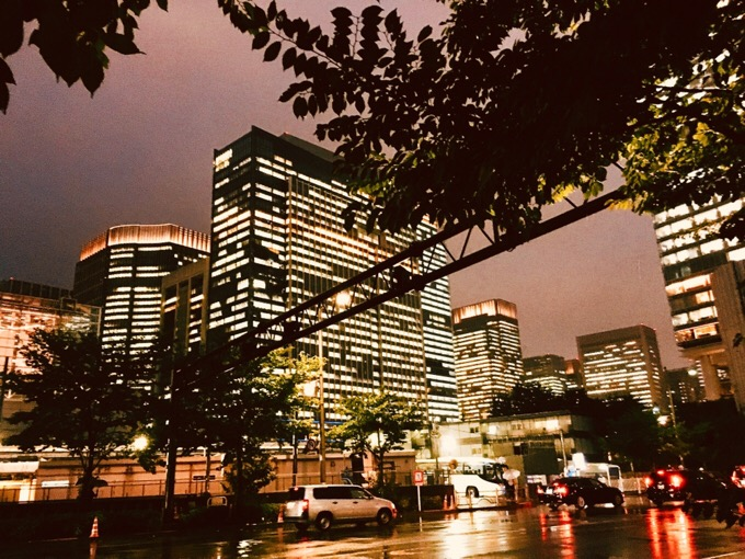 雨の夜景 【今日の一枚】