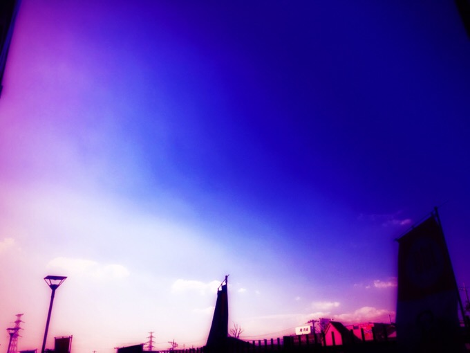 ピンクなそら【今日の一枚】