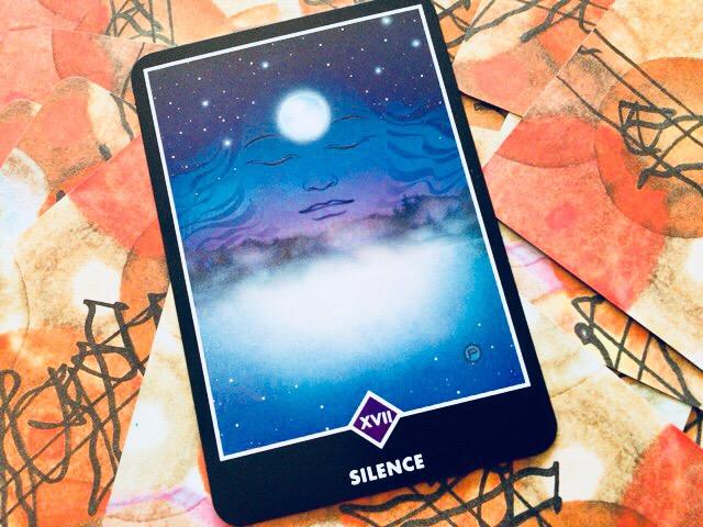 サイレンス 沈黙というカード@OSHO ZEN TAROT