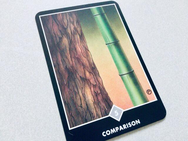 COMPARISON  比較@OSHO 禅タロットで潜在意識と対話する。