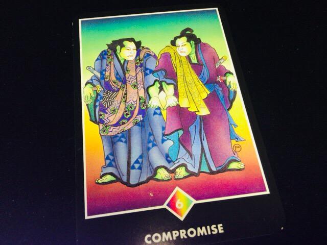 COMPROMISE 妥協@OSHO 禅タロットで潜在意識と対話する。