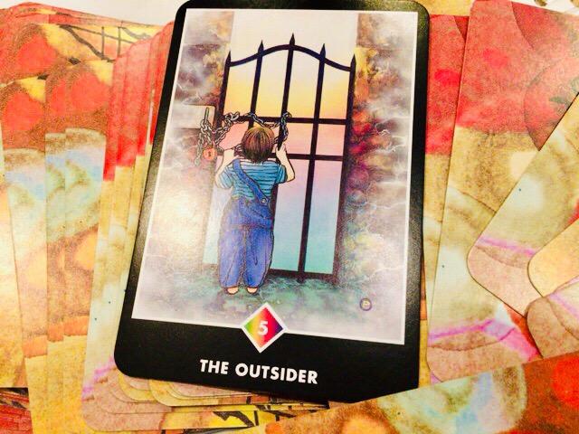 THE OUTSIDER アウトサイダー@OSHO 禅タロットで潜在意識と対話する。