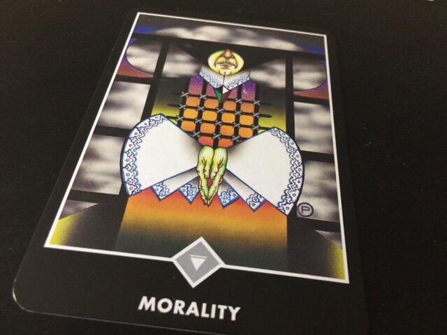 MORALITY 道徳性@OSHO 禅タロットで潜在意識と対話する。
