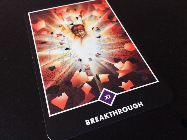 BREAKTHROUGH 突破(ブレイクスルー)@OSHO 禅タロットで潜在意識と対話する。
