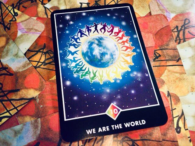 WE ARE THE WORLD ウィーアーザワールド@OSHO 禅タロットで潜在意識と対話する。