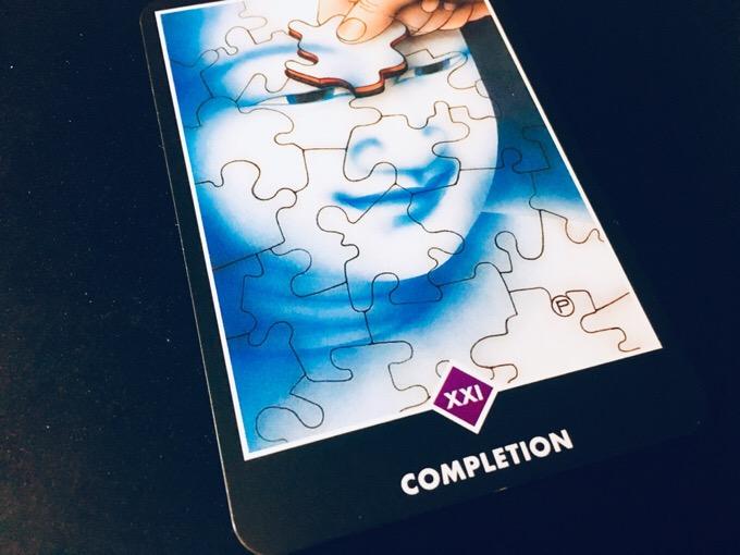 COMPLETION 完成@OSHO 禅タロットで潜在意識と対話する。