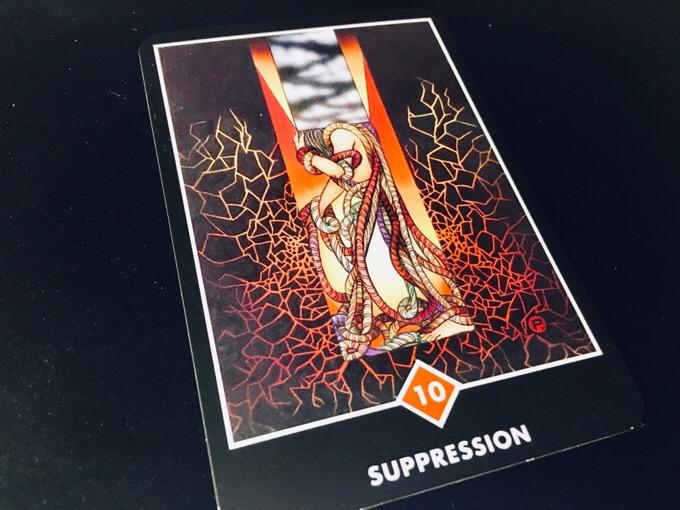 SUPPRESSION 抑圧@OSHO 禅タロットで潜在意識と対話する。