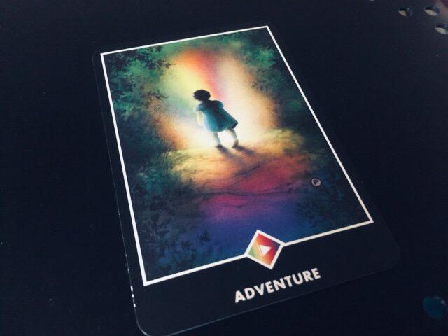 ADVENTURE  冒険@OSHO 禅タロットで潜在意識と対話する。二回目引いた。