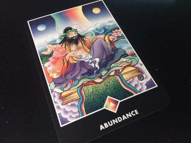 ABUNDANCE あふれ出る豊かさ@OSHO 禅タロットで潜在意識と対話する。