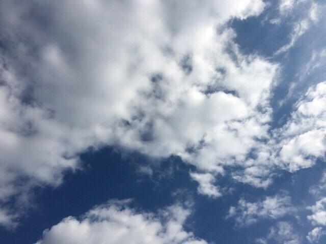 今日の空を記しておこう