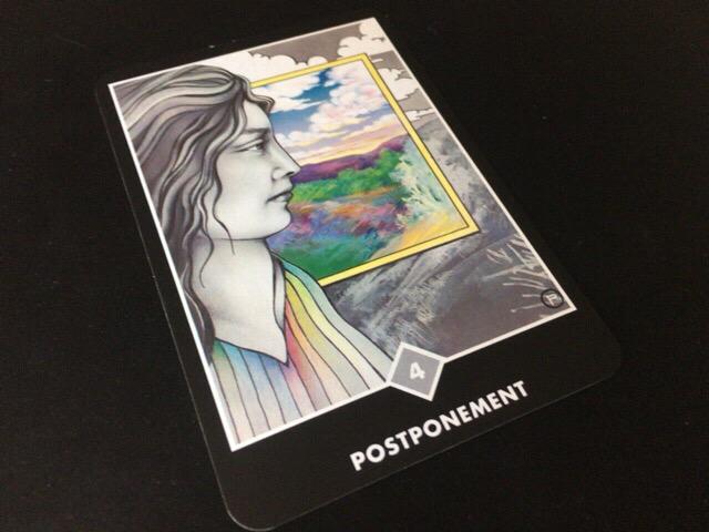 POSTPONEMENT 引き延ばすこと@OSHO 禅タロットで潜在意識と対話する。