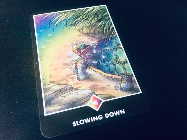 SLOWING DAWN スローイング・ダウン 一休み@OSHO 禅タロットで潜在意識と対話する。
