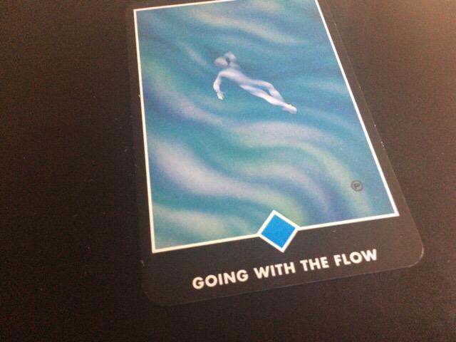 GOING WITH THE FLOW 流れと共に行く@OSHO 禅タロットで潜在意識と対話する。