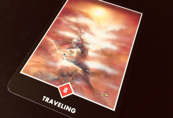 TRAVELING  トラベリング@OSHO ZEN TAROT で潜在意識と対話する