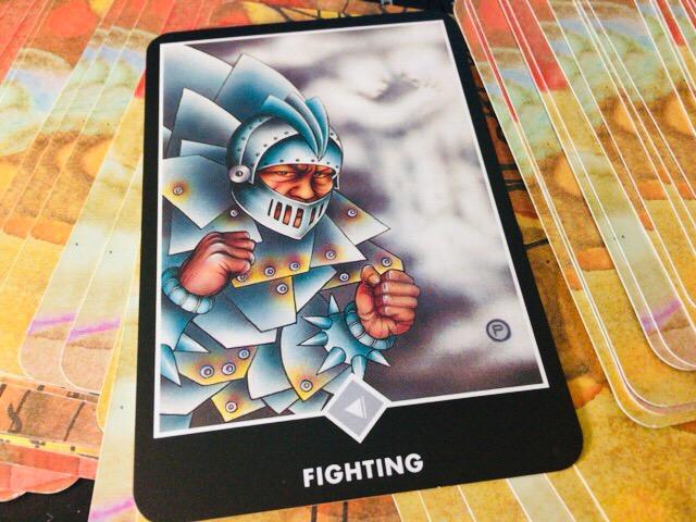 FIGHTING 戦い@OSHO 禅タロットで潜在意識と対話する。