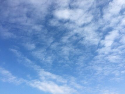 今日の空を記しておこう。2019Jan13 TOEIC 日和です!?