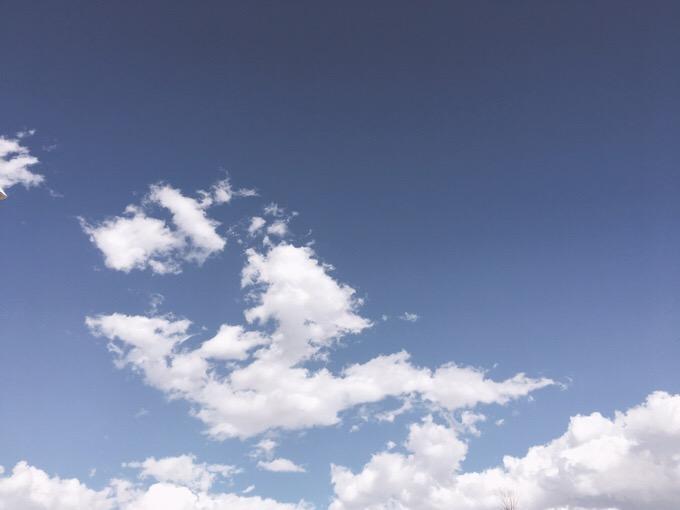 今日の空を記しておこう。2019Mar13