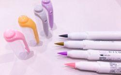 【天才】マイルドライナー ブラッシュ 筆ペンタイプの蛍光ペンが天才