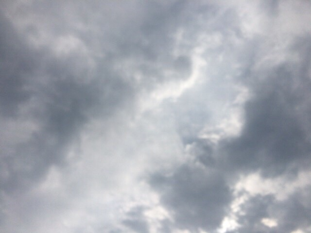 今日の空を記しておこう。2019Mar27