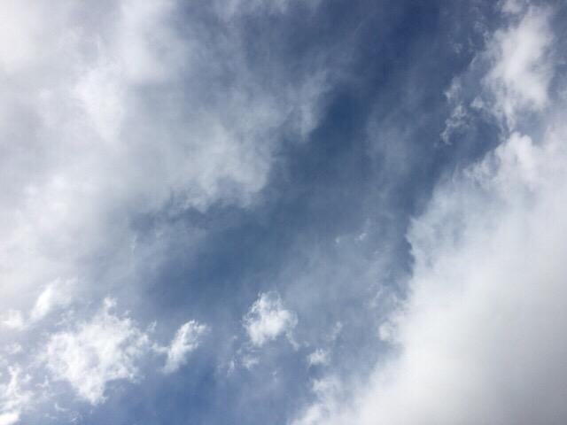 今日の空を記しておこう。2019Apr02