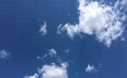 今日の空を記しておこう。2019Apr03