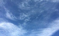今日の空を記しておこう。2019Apr05