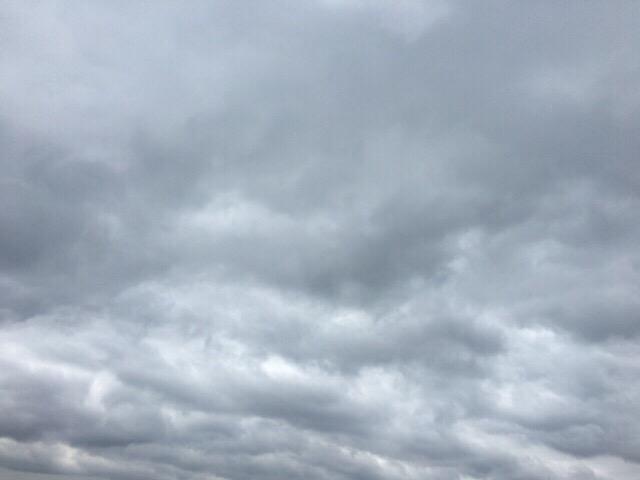 今日の空を記しておこう。2019Apr08