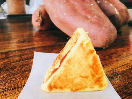 小江戸川越名物 焼き芋おにぎり 芋太郎 自然の甘さには飲み物が必要です。