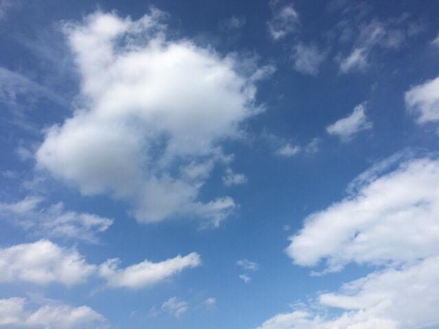 今日の空を記しておこう。2019Jun08
